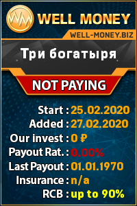 Мониторинг инвест проектов well-money.biz